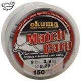Najlon Okuma Match Carp Light Grey 0,28mm-0,35mm 150m
