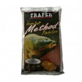Hrana Traper Groundbait Method Feeder - Strawberry