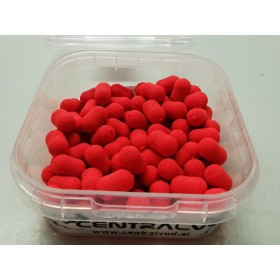 Fluo Dumbell Wafters Centarlvod Baits Strawberry 50g