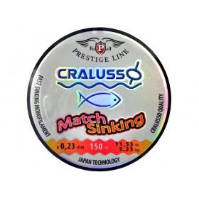 Najlon Cralusso Match Sinking 0,14-0,23mm 150m