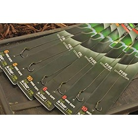 Naveza Korda DF Carp Rig Wide Gape Barbless 4-6