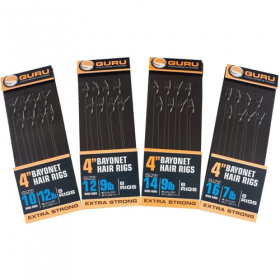 Navezani Trnki Guru Bayonet Hair Rigs 8pcs