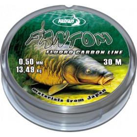 Flourocarbon Katran Fantom 0,25-0,50mm 30m