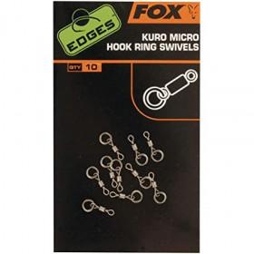 Vrtljivke Fox Kuro Micro Hook Ring Swivel