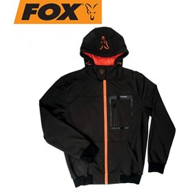 Jakna Fox Softshell Jacket black/orange S