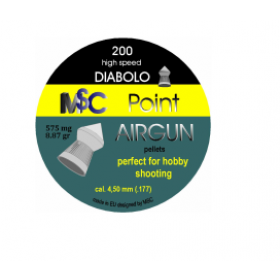 Metki za zračno puško MSC Point Airgun 4,5mm 200kom