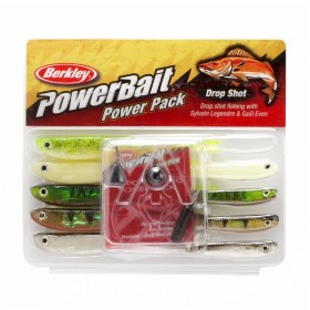 Silikonske vabe Berkley Power Bait Power Pack Drop Shot