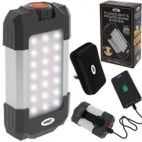 Bivvy lučka NGT Multi Floodlight & Power Bank 21Led