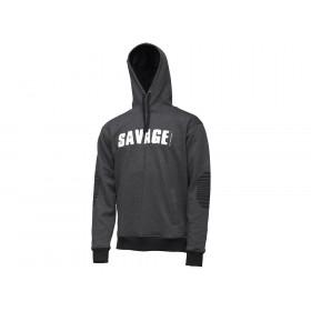 Pulover Savage Gear Logo Hoodie L-XXL
