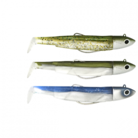Vaba Fiiish Black Minnow Maxi Combo 140mm 40g 3pcs