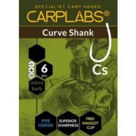 Trnki Carplabs Curve Shank št:4-8/ 6kom+ maggot clip
