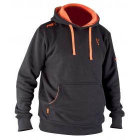 Pulover Fox Black Orange Hoodie XL
