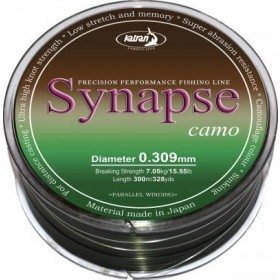 Najlon Katran Synapse Carp camo 0,309-0,331mm 300m