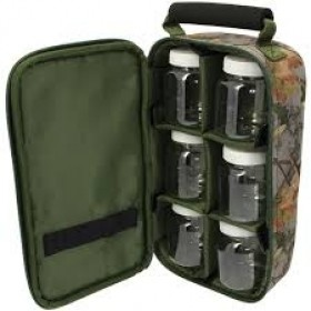 Torba NGT 6 Pot Camo Glug Bag