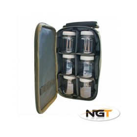 Torba za dipe NGT 6 Pot Bag 825