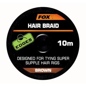 Vrvica Fox Hair Braid 10m- brown