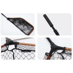 Podmetalka Savage Gear Pro Tele Folding Net Rubber X-Large XL-Mash