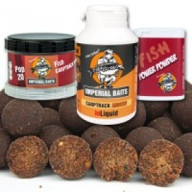 Imperial B. Menu Fish Boilies 5kg 20mm +inLiquid, Power Powder, Pop Ups
