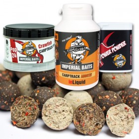 Imperial B. Crawfish Boilies 5kg 20mm + inLiquid, Power Powder, Pop Ups
