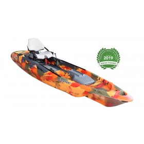 Kajak za ribolov Feelfree Dorado Overdrive -Motordrive orange camo