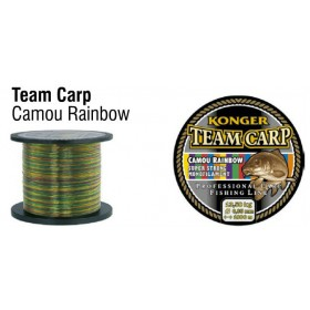 Najlon Konger Team Carp Camu Rainbow 0,28-0,30mm 1000m