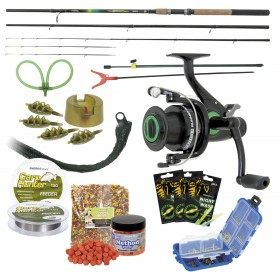 Set Energofish Carp Hunter Alfa Feeder