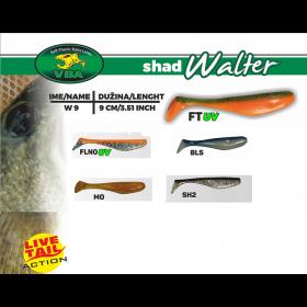 Silikonska vaba VBA Walter Shad 9cm- izbira