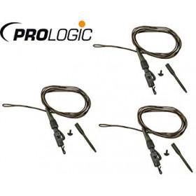 Sistem Prologic Safety Clip QC Swivel Hollow Leader 80cm- 3pcs
