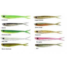 "Silikonska vaba Berkley PoweBait 5"" Ripple Minnow 6pcs"