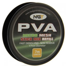 NGT PVA Micro Mesh Stick Mix Refill 17mm 7m