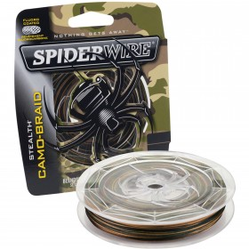 Pletena vrvica Spiderwire Stealth Camo-Braid 0,20mm-0,25mm 110m