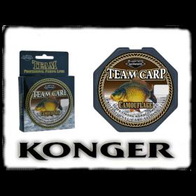 Najlon Konger Team Carp Camouflage 0,28-0,35mm/ 280-320m