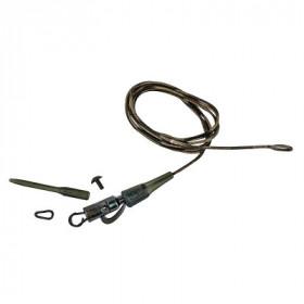 Sistem Prologic Safety Clip QC Link Hollow Leader 80cm- 3pcs