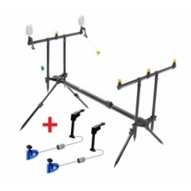 Rod Pod Zfish Classic 3Rod + 2x Swingerji GRATIS
