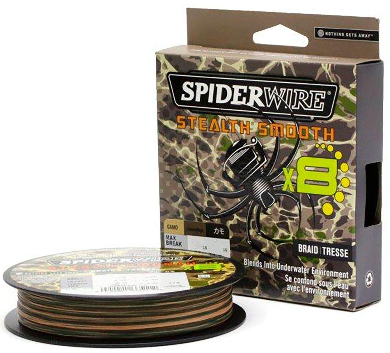 Vrvica Spiderwire Stealth Smooth X8 Camo 300m