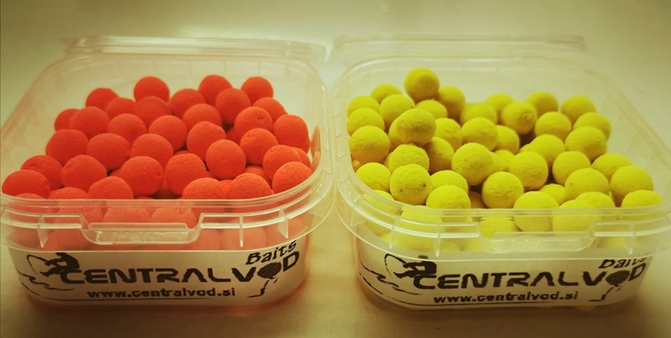 Mini Fluo Pop Up Centralvod Baits 8mm 50g- izbira