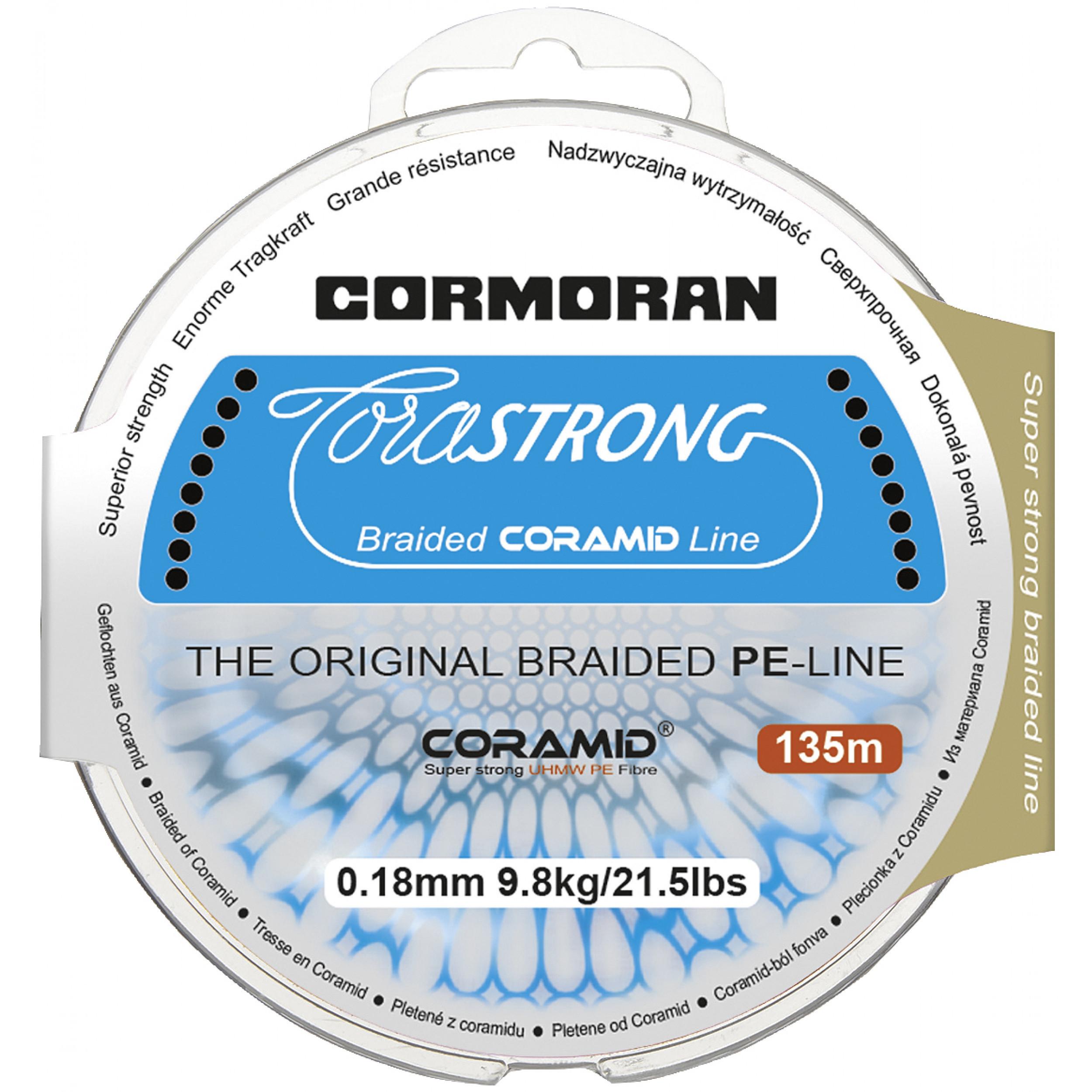 Pletena vrvica Cormoran Corastrong 0,10mm-0,35mm 135m