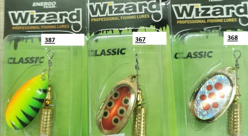 Spinner Energofish Wizard Classic št:3 8g- izbira
