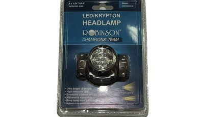 Naglavna svetilka Robinoson Champion Headlamp