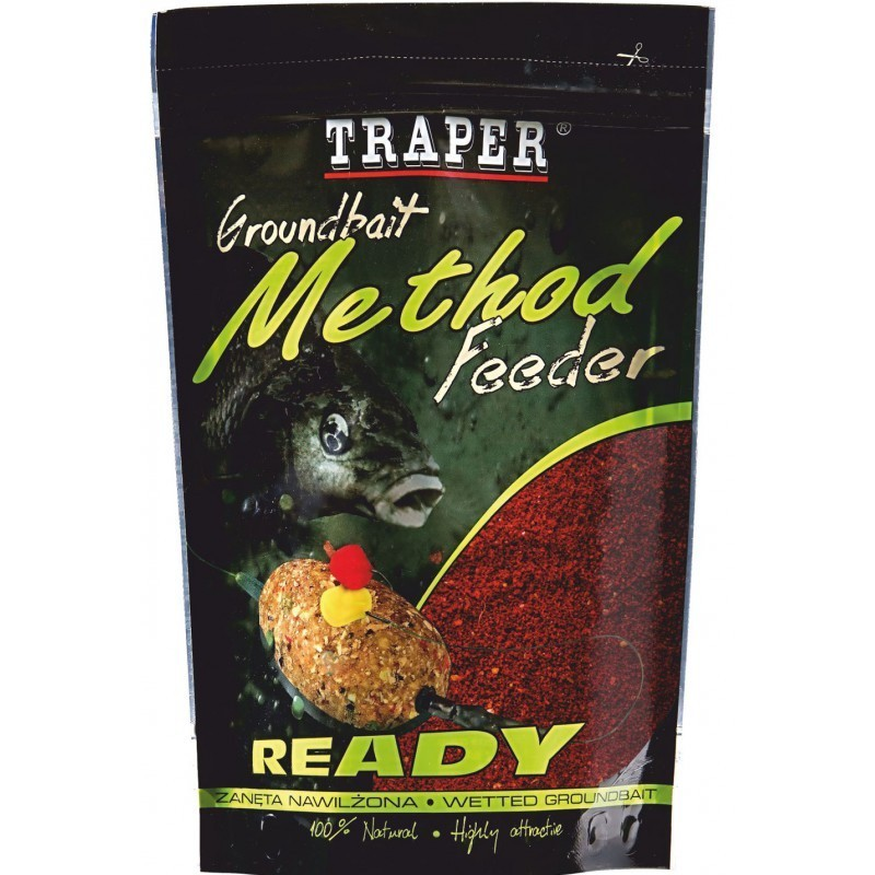 Hrana Traper Ready Groundbait Method Feeder 750g- izbira