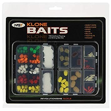 Set NGT Klone Baits Floating 155pcs