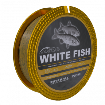 Najlon Mistrall Shiro White Fish 0,16-0,25mm 150m