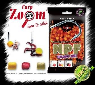 Plavajoči Peleti NPF Mini Carp Zoom- Strawberry 30g