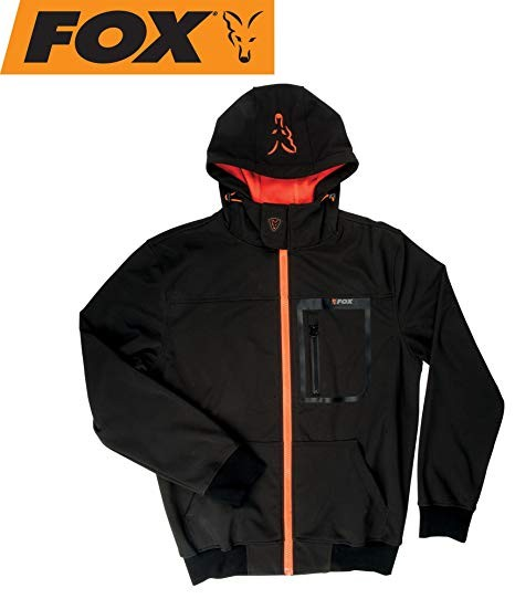 Jakna Fox Softshell Jacket black/orange S