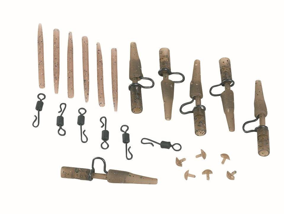 Camou Heavy Lead Clip Set Extra Carp 4100
