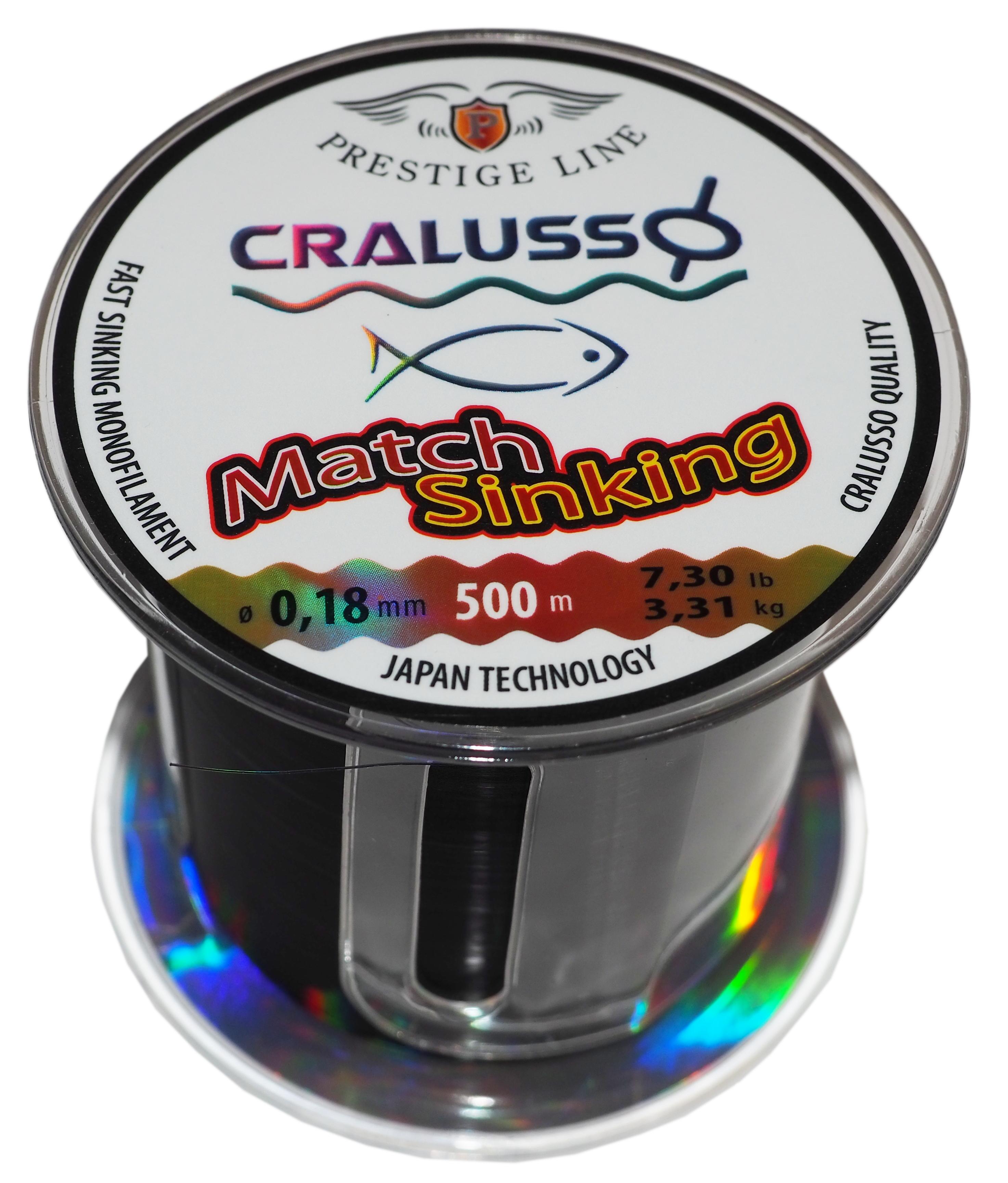 Najlon Cralusso Match Sinking 0,18-0,20mm 500m
