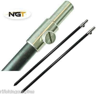 Bankstick NGT Alu Large Black 50-90cm
