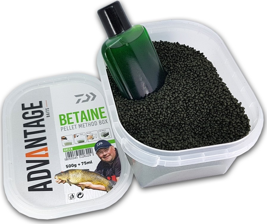 Peleti Daiwa Advantage Baits Betaine Pellet Method Box