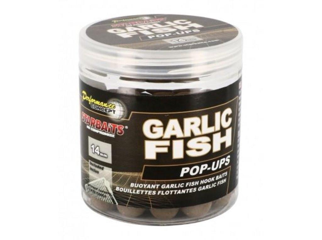 Starbaits Pop Up Garlic Fish 14mm 80g