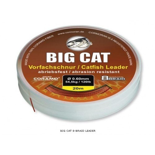 Vrvica Cormoran Big Cat Catfish Leader 0,60-1,00mm 20m